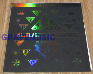 BIGBANG ALIVE TOUR 2012 OFFICIAL GOODS STICKER SET NEW