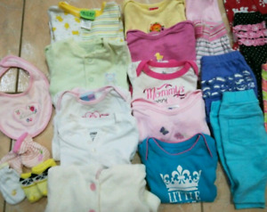 Baby girl 0-3 MO LOT Fall/winter brand name clothes