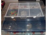 2 Hamster Cages with Accessories