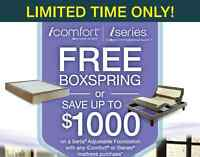 Serta iSeries mattress Sale, Free box spring event on Now!