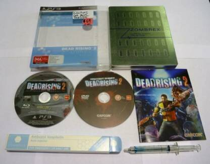 PS3 Game Dead Rising 2 Zombrex Edition set RARE Australian Rated Findon Charles Sturt Area Preview