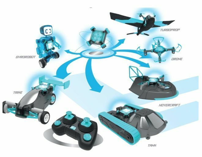 SmartCore 6 Separate Models RC Kit - Three Land Vehicles and Three Sky Vehicles
