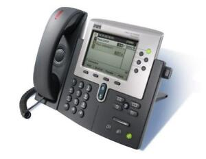 Cisco IP Phone 7960G - Unified VoIP Phone - (6) Programmable Line/Feature Buttons - CP-7960G