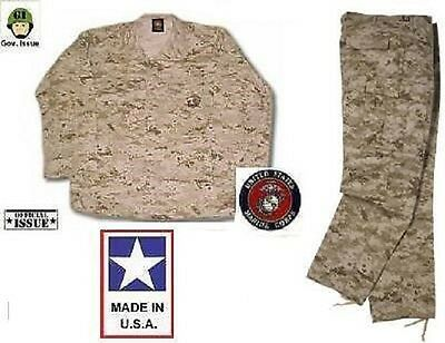 Funsport Airsoft US Marines USMC MARPAT Desert Digital MCCUU Tarnanzug Hose Jacke SL Small Long