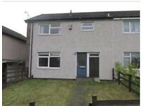 3 Bedroom House To Let ,Large Front & Back Garden. £650 PCM.