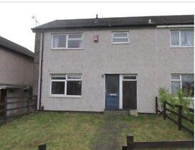 3 Bedroom House To Let ,Large Front & Back Garden. £650 PCM.