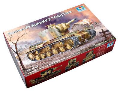 Trumpeter 9360367 Panzerkampfwagen KW-2 754 1:35 Fahrzeug Modellbausatz