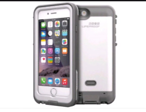 Iphone 6 with LifeProof battery case