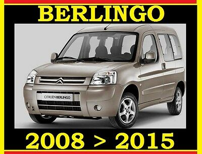 CITROEN BERLINGO MK3 B9 DV6 1.6 DIESEL SERVICE REPAIR WORKSHOP MANUAL 2008 2015
