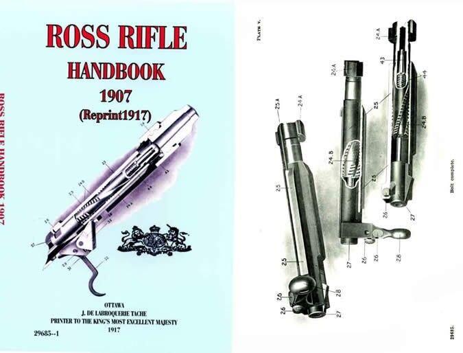 Ross 1907 Rifle Handbook (Canada)