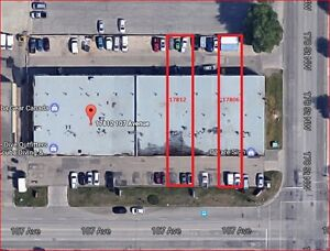 West Edmonton Industrial Bay for Lease