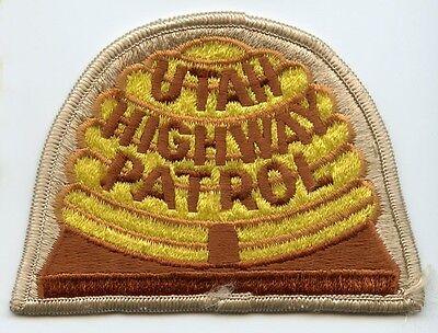1980's Utah Highway Patrol Patch