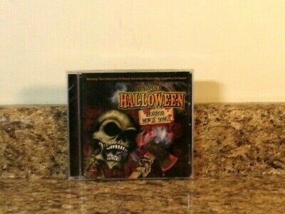 Halloween The Movie Songs (THE GHOST DOCTORS - SCARIEST HALLOWEEN HORROR MOVIE SONGS CD SEALED)