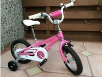 "(2732) 12"" Lightweight Aluminium SPECIALIZED Girls Bike Bicycle+STABILISERS Age: 2-4, 85-100cm"