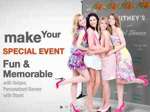 CUSTOM BANNERS/BACKDROP PACKAGE/STEP&REPEAT - LOW AS $159.00! Cambridge Kitchener Area image 1