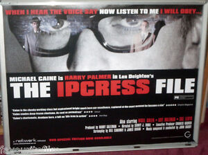 Cinema Poster: IPCRESS FILE, THE 1965 (2005 RR Quad) Michael Caine Nigel Green
