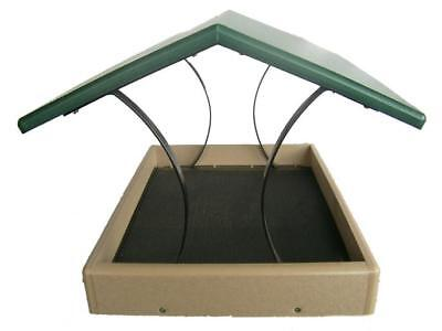 Birds Choice SNFT-300 Recycled Plastics Large Fly Thru Feeder