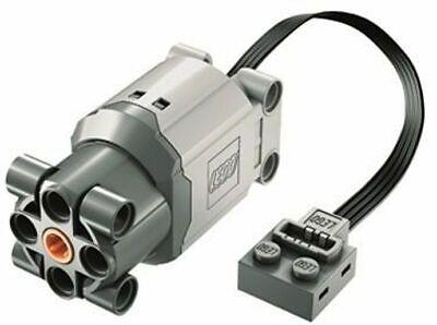 LEGO Light Bluish Gray Electric Motor 9V Power Functions L with Dark Bluish Gray
