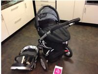 Quinny Buzz Pram and Carry Cot - Good Condition