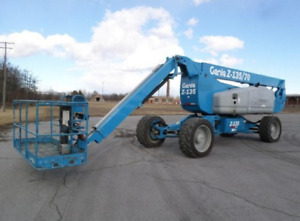 Boom and Scissor Lifts For Rent