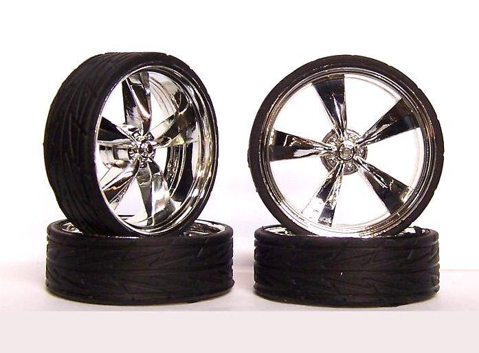 Hoppin Hydros 1 24 1 25 Monster 24S Wheels Rims Tires Tora Model Car Kit