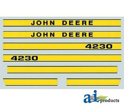 John Deere 4230 Tractor Decal Set Hood Decal