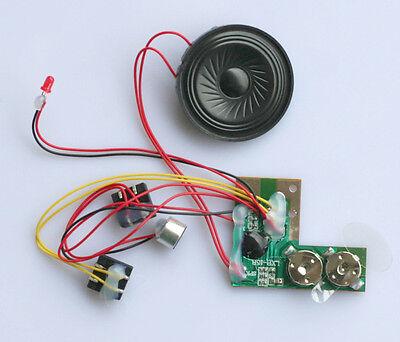Neu Decoder Sound Aufnahme Geräusch Modul mit Lautsprecher