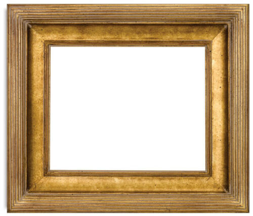 Museum Quality Gold  Leaf frame size 12x16 inches