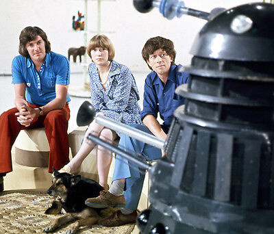 Peter Purves, John Noakes and Lesley Judd photo - H7265 - Blue Peter
