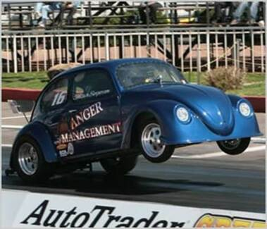 1956 Oval Volkswagen Factory Rag Top Beetle/ Drag Car, VW, Beetle