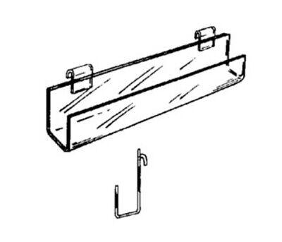 4-pack Clear Plastic Acrylic Gridwall J-rack 5680g