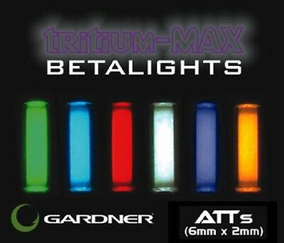 Gardner NEW ATTS Tritium Max Betalights 6mm x 2mm *Pair of Isotopes*