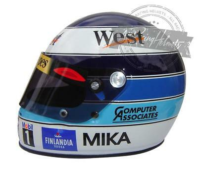 Mika Hakkinen 1998 Formula 1 World Champion F1 Replica Helmet Full Scale 1:1  for sale  Hollywood