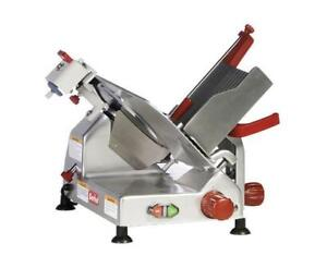 "Nella - 12"" Gravity Feed Meat Slicer - Brand New"