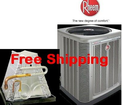 3.5 Ton R-410A 14 SEER Mobile Home Heat Pump Condensing Unit & Evaporator Coil