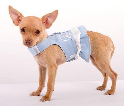 Hemp Dog Harness Doggles Female Stitched -