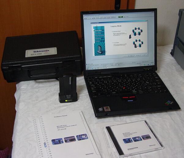 Tektronix BPA100 2.402-2.480GHz Bluetooth Protocol Analyzer
