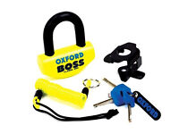Oxford Boss Security Disc Lock. Ultra Strong. Brand New. Motorcycle / Bike. RRP £40