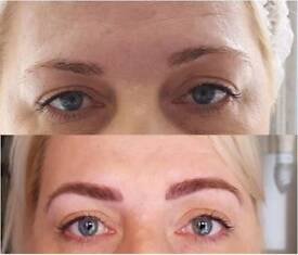 Microblading eyebrows / semi permanent brows