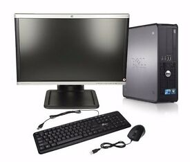 * IDEAL FOR XMAS * Dell PC/22inch monitor/Office 2016 Pro - £100 ono