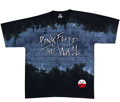 - Pink Floyd-Brick In The Wall- Tie Dye T-shirt