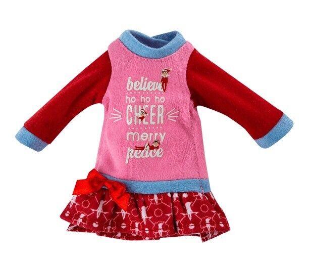 Pink Very Merry Nightgown - Sweet Dreams Elf on the Shelf 2017 PJ