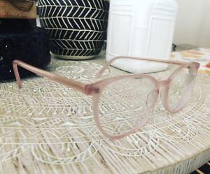 Lunette de vue rose myopie -1.5 à la mode