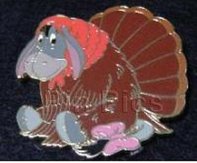 Disney Thanksgiving Eeyore Dressed in a Turkey Costume LE 3500 pin