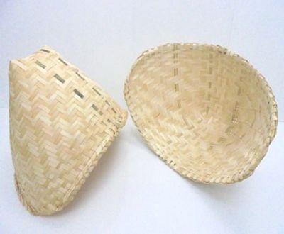 Used, Sticky Rice Steamer Thai Lao  Bamboo Baskets Cookware Kitchen Tool for sale  Shipping to United States