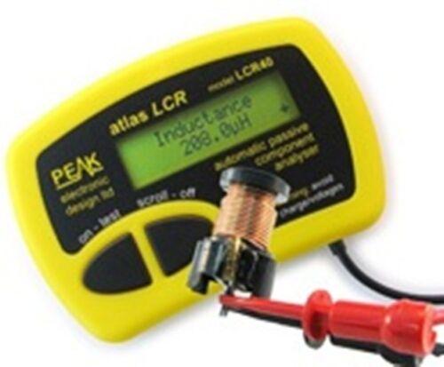 New Peak LCR40 Passive Component Tester Analyzer Meter Atlas w/ Manual, Warranty
