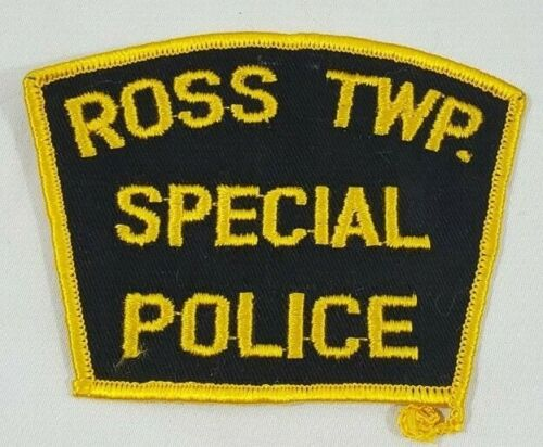 ROSS TOWNSHIP TWP PENNSYLVANIA PA SPECIAL POLICE SHOULDER PATCH