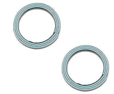 2 Exhaust Pipe Flange Gasket Stone New Fits: Toyota 4Runner Camry Celica Pickup (Toyota Exhaust Pipe Gasket)