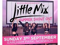 2 x tickets little mix Norwich