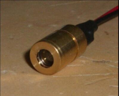 670nm 5mw Laser Module 3vdc Adj. Lens 670 Nm 8 X 13 Mm Oem